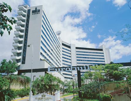 hotel eurobuilding suites: